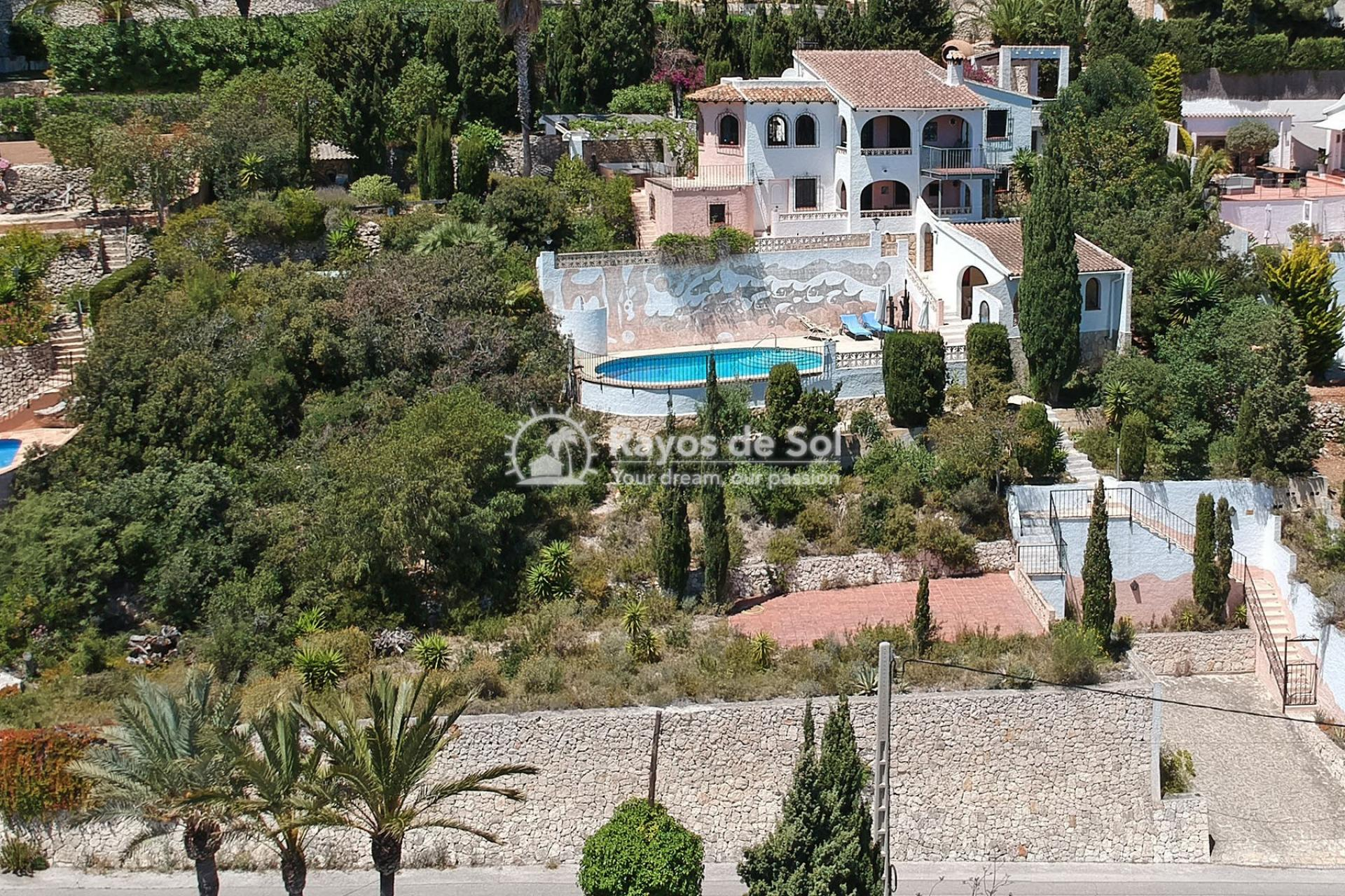 Villa  in Moraira, Costa Blanca (3392) - 1