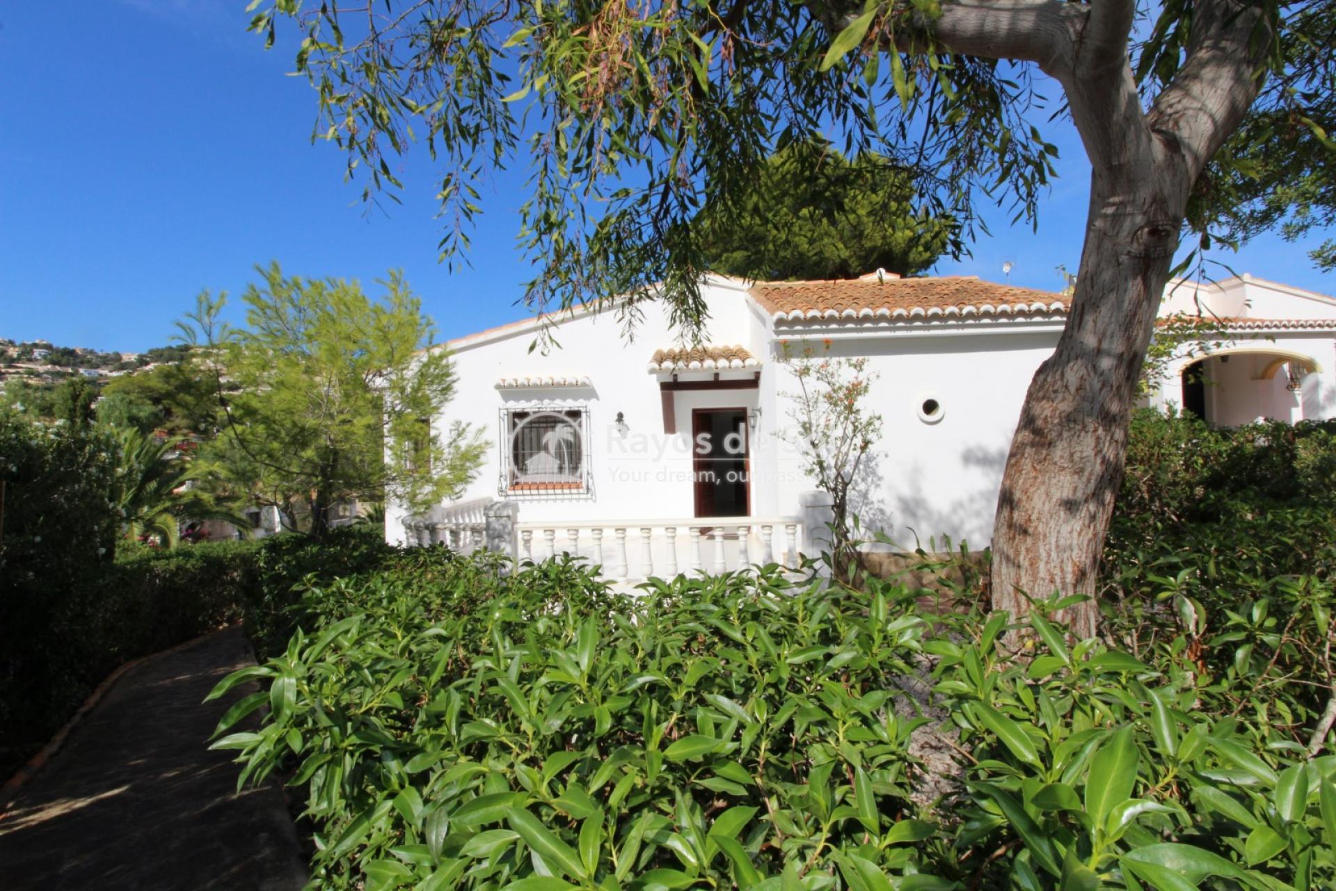 Villa  in Moraira, Costa Blanca (3495) - 1