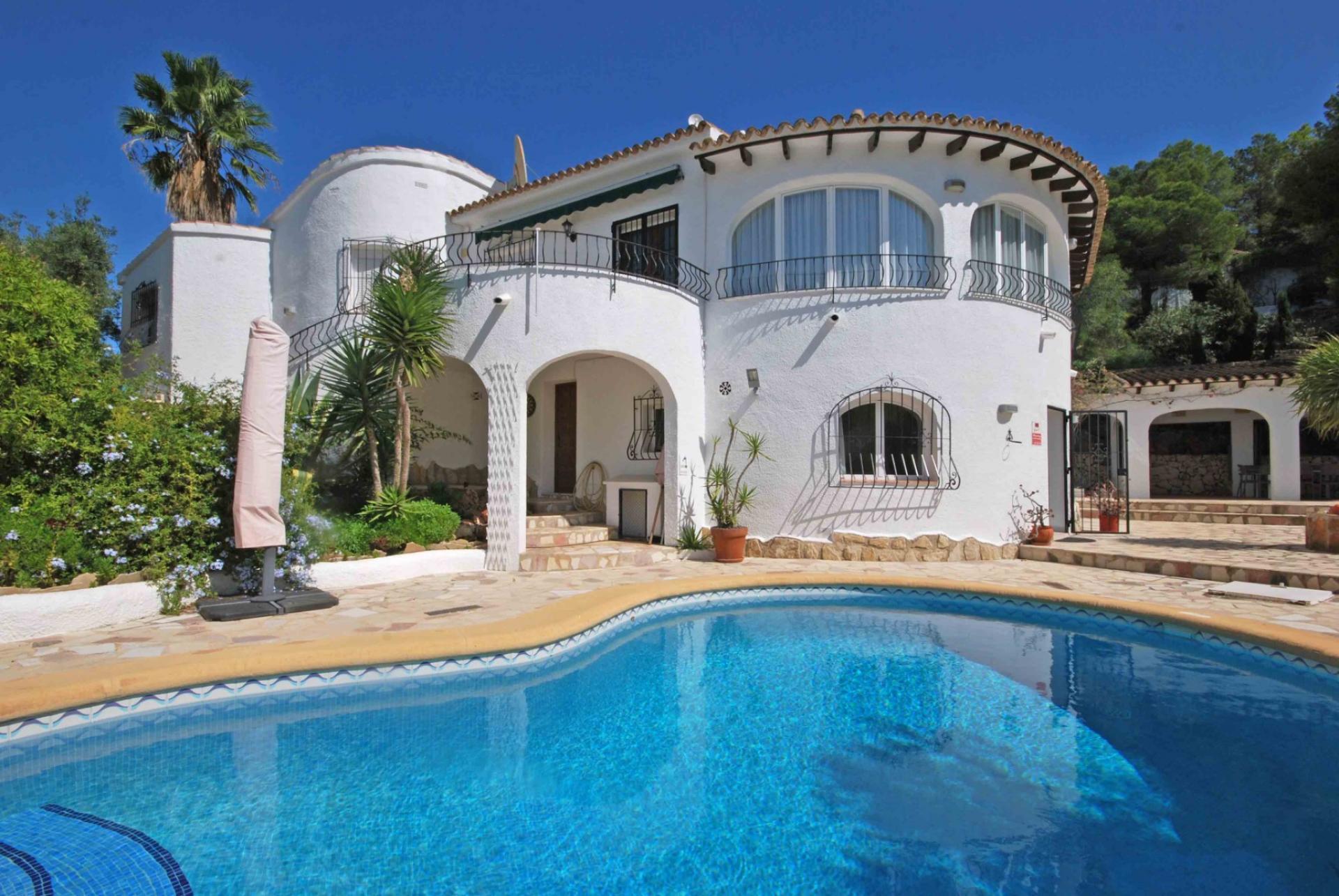 Villa  in Moraira, Costa Blanca (3682) - 1