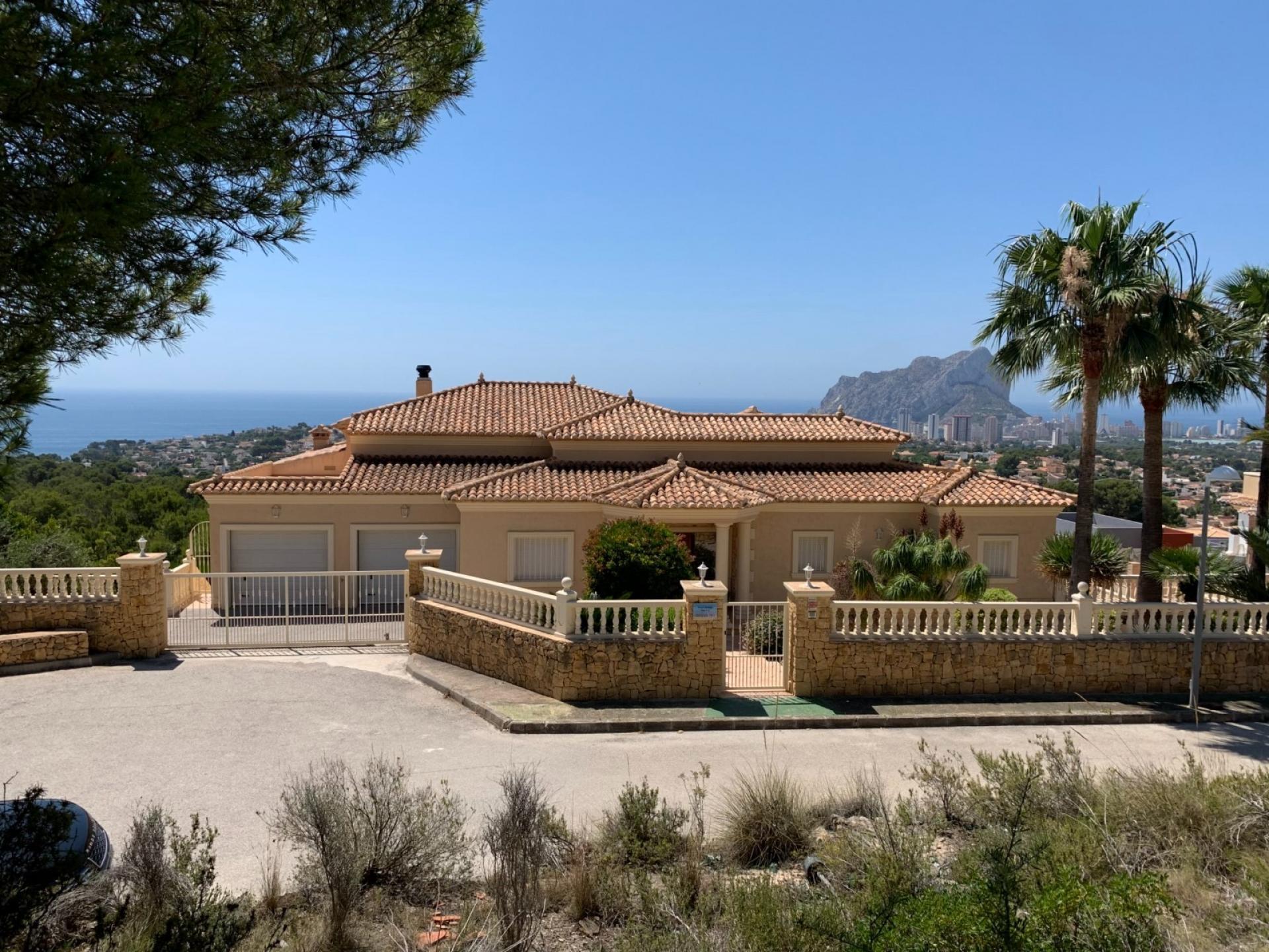 Villa  in Calpe, Costa Blanca North (3821nd) - 1