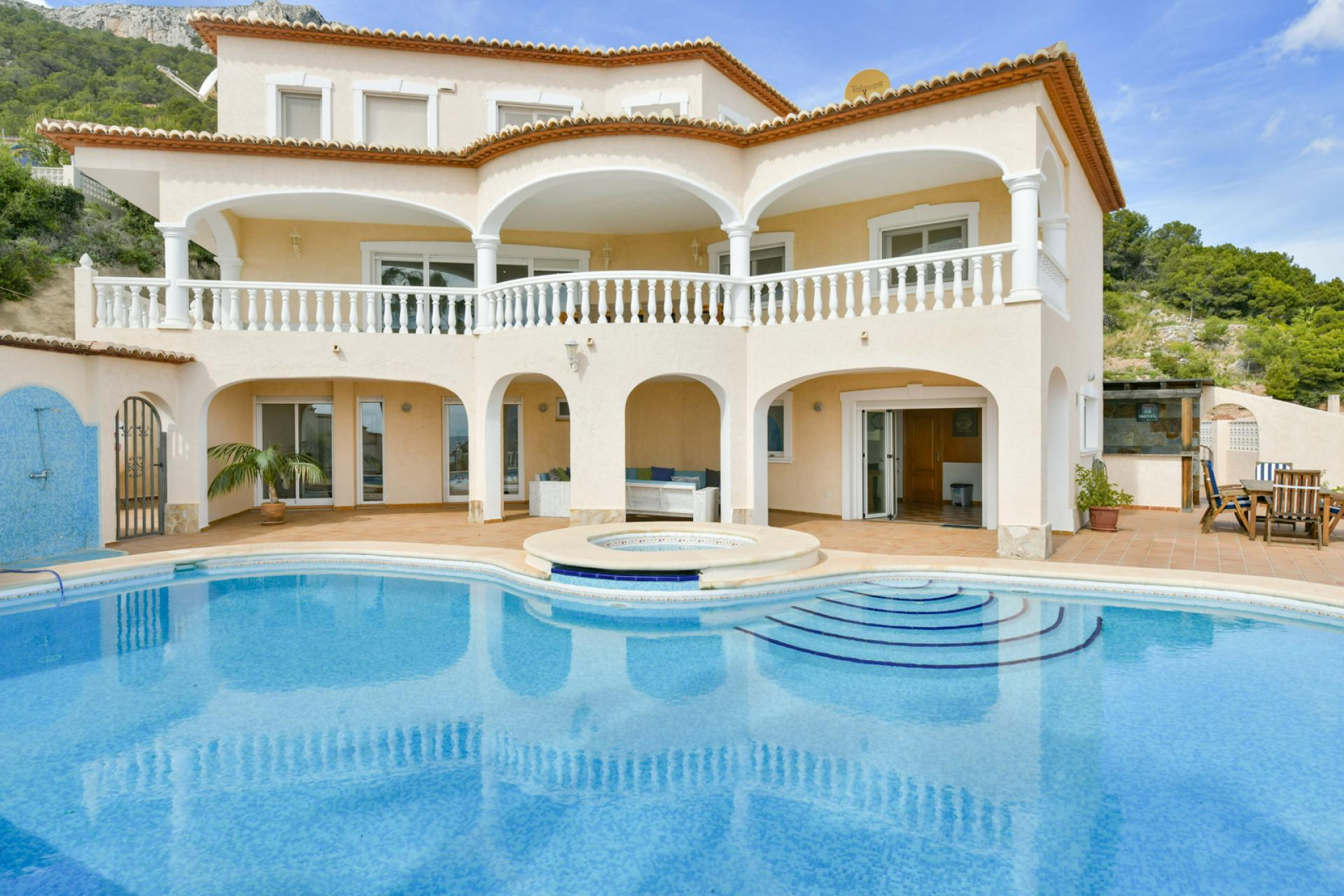Villa  in Calpe, Costa Blanca North (3822) - 1