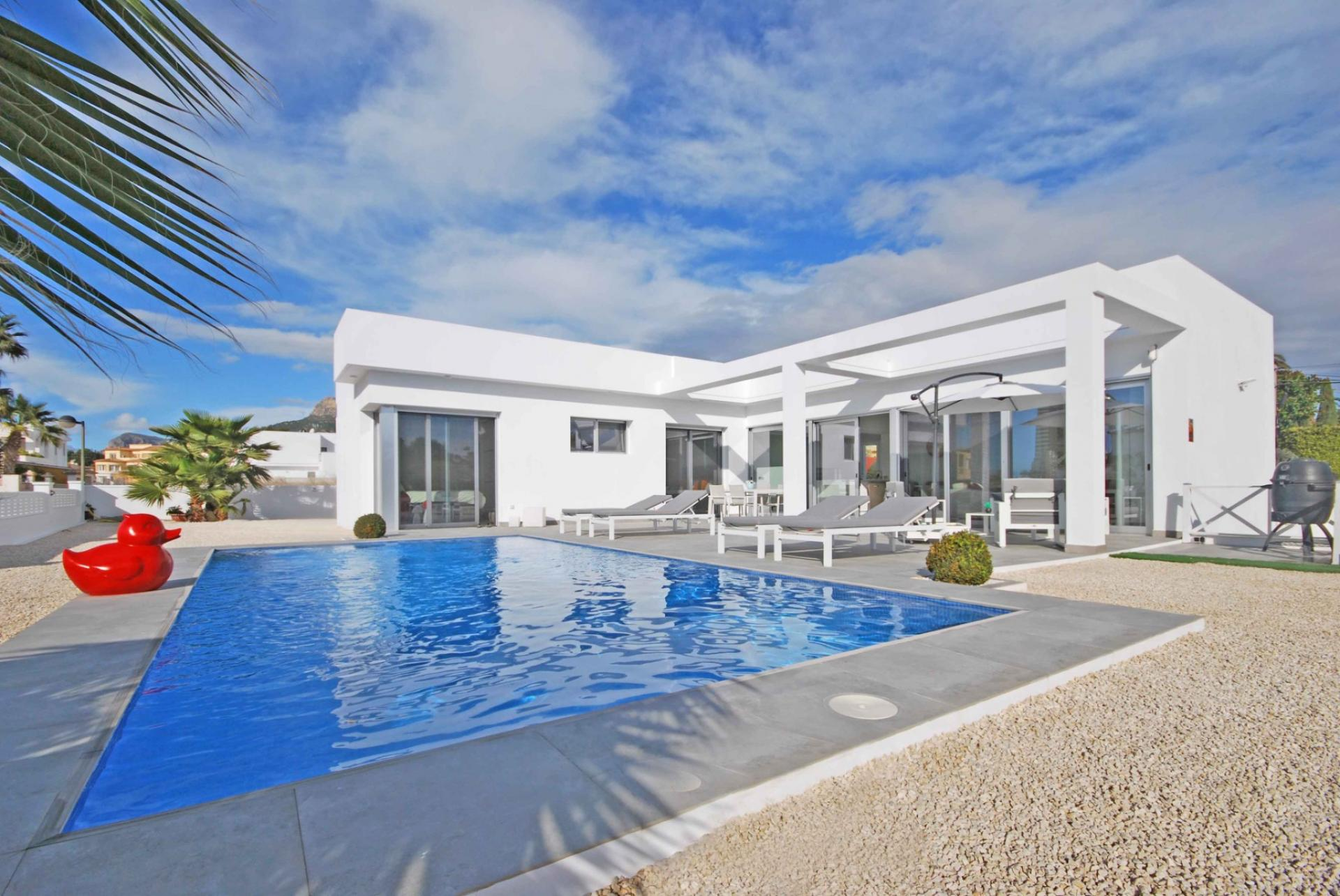 Villa  in Calpe, Costa Blanca North (3869ex) - 1