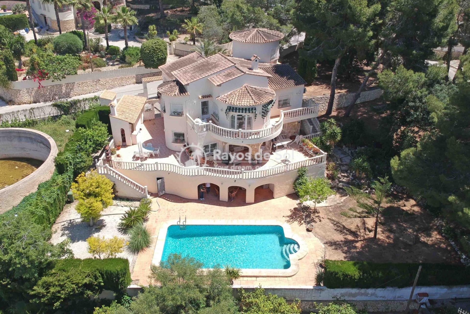 Villa  in Moraira, Costa Blanca (3887x) - 1