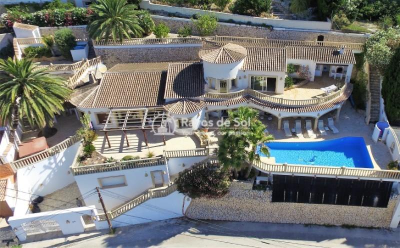 Villa  in Moraira, Costa Blanca (cbd236) - 1
