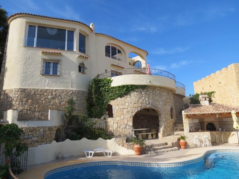 Villa  in Calpe, Costa Blanca North (cbd1124) - 2