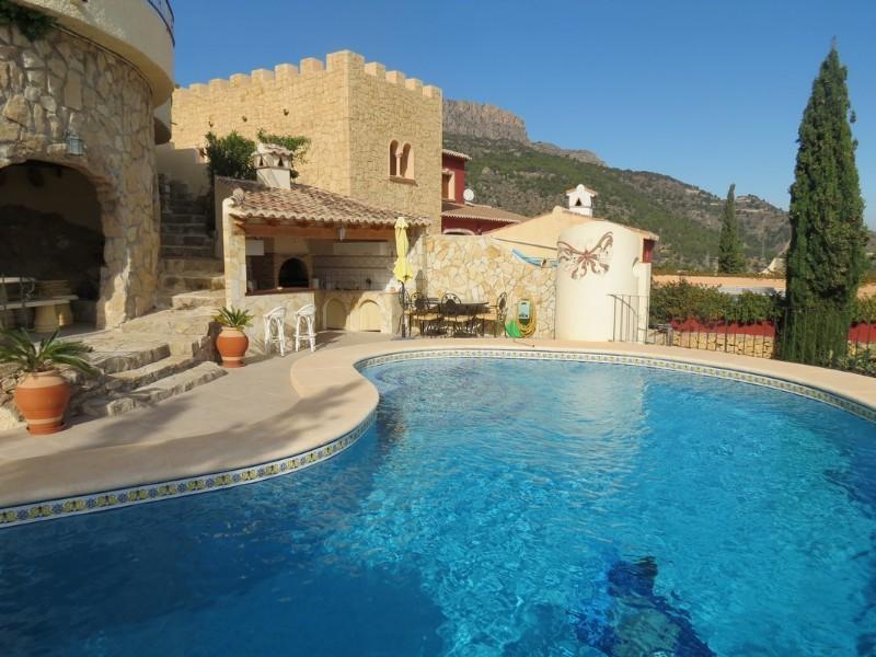 Villa  in Calpe, Costa Blanca North (cbd1124) - 37