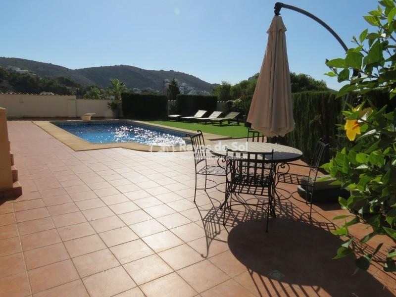 Villa  in Moraira, Costa Blanca (cbd1215x) - 2
