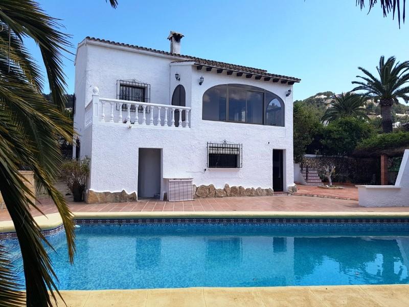 Villa  in Moraira, Costa Blanca (cbde1265) - 1