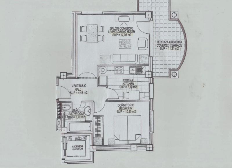 Apartment  in Oliva, Costa Blanca (cbde1373) - 15