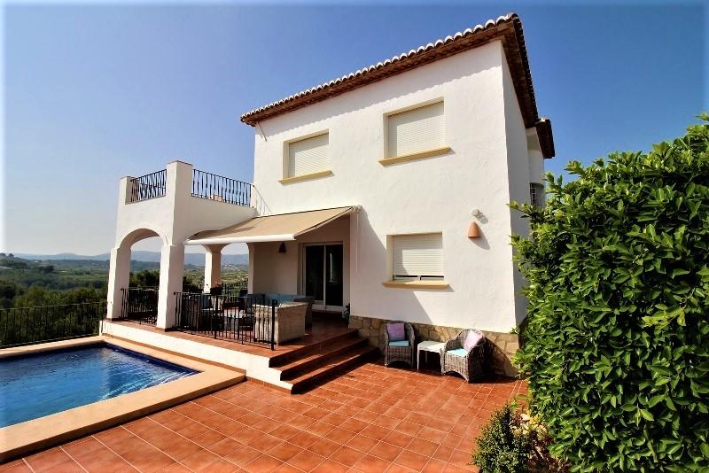 Villa  in Moraira, Costa Blanca (cbde1426) - 1