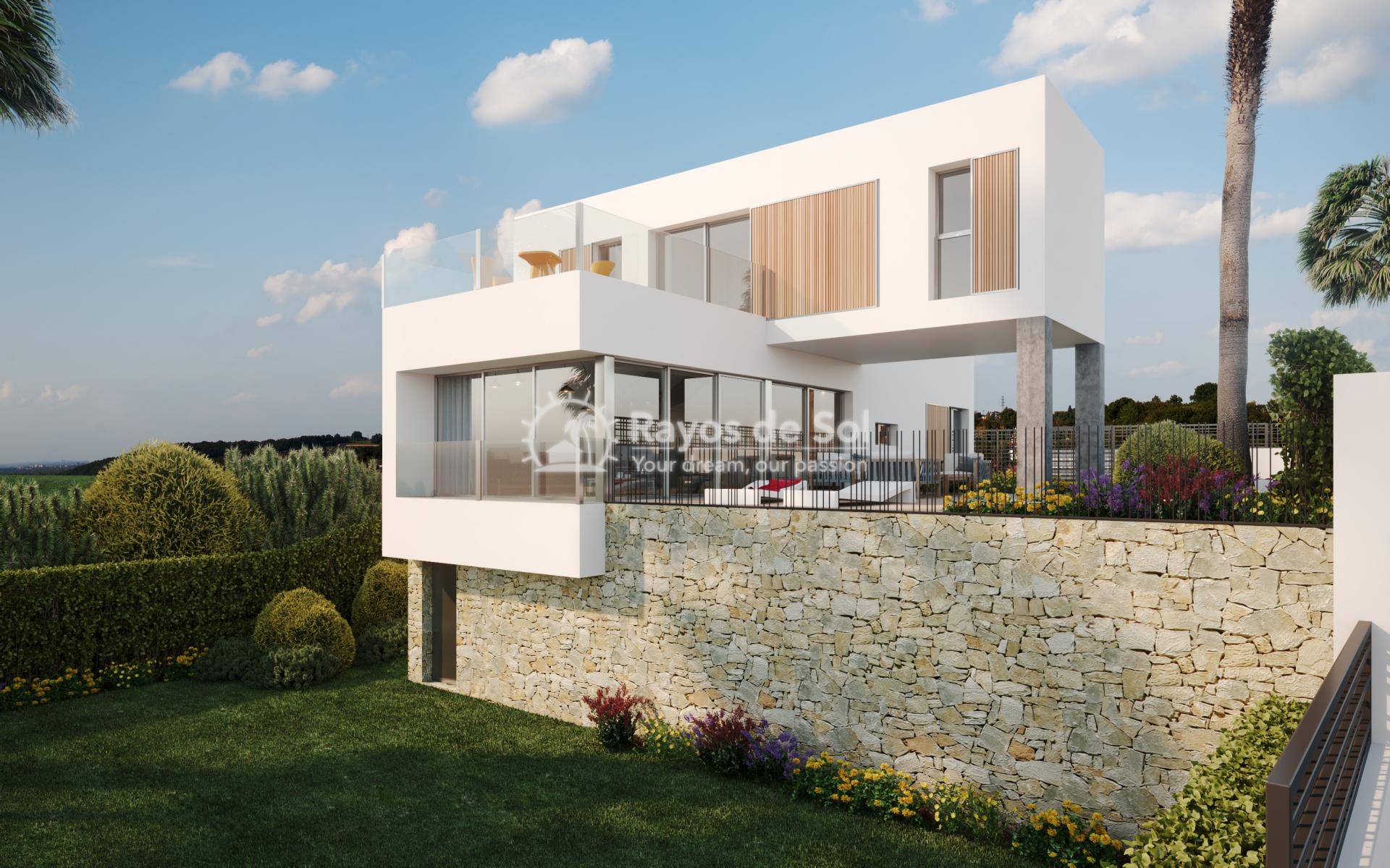 Luxury newbuild villa in La Finca Golf, Algorfa, Costa Blanca (LFPADI) - 1