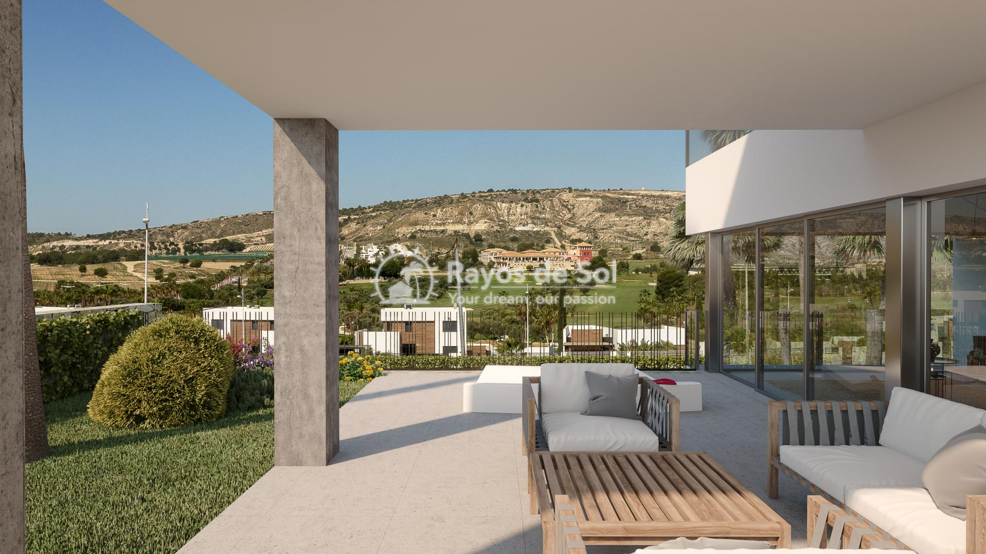Luxury newbuild villa in La Finca Golf, Algorfa, Costa Blanca (LFPADI) - 4