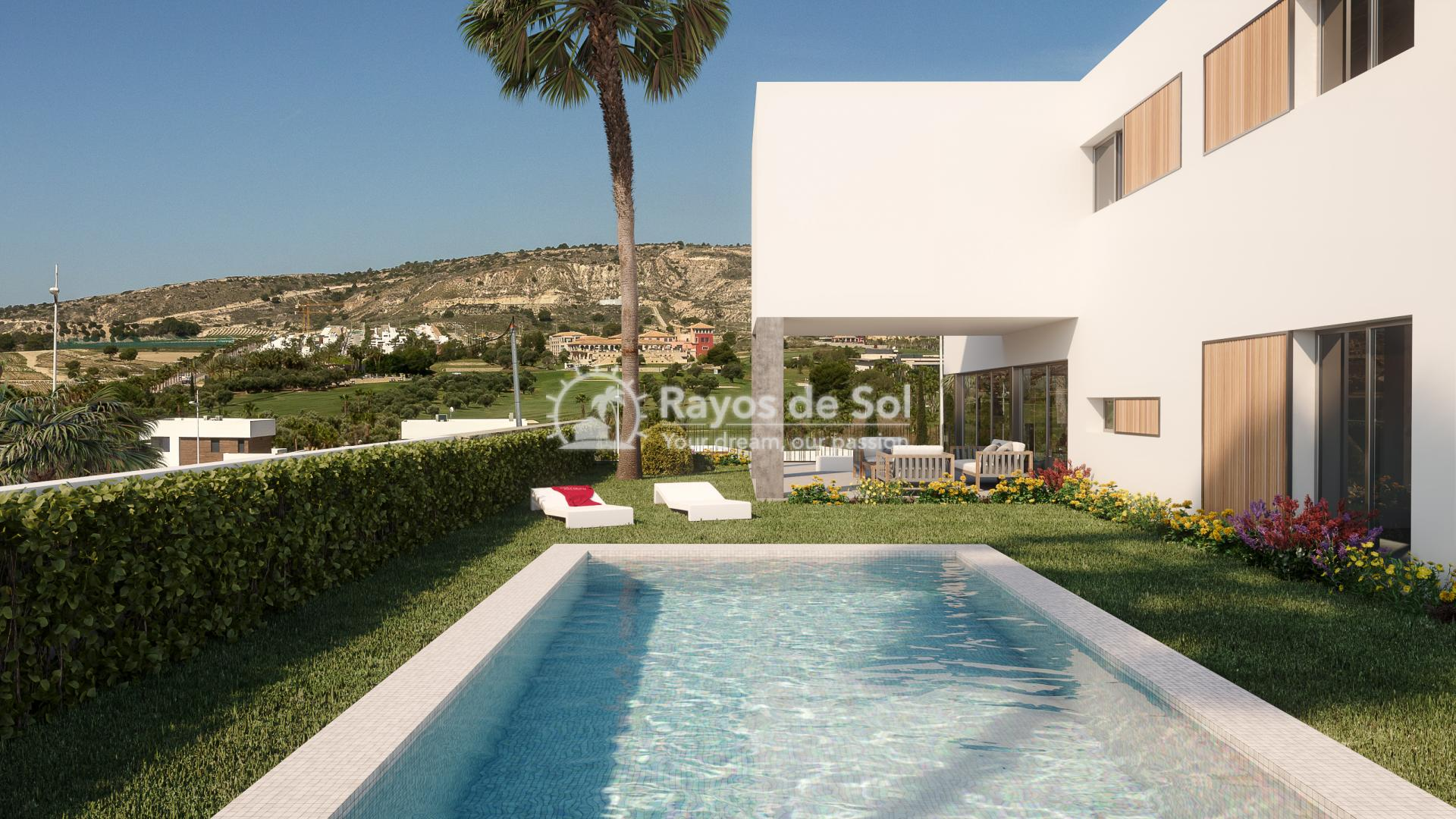 Luxury newbuild villa in La Finca Golf, Algorfa, Costa Blanca (LFPADI) - 3