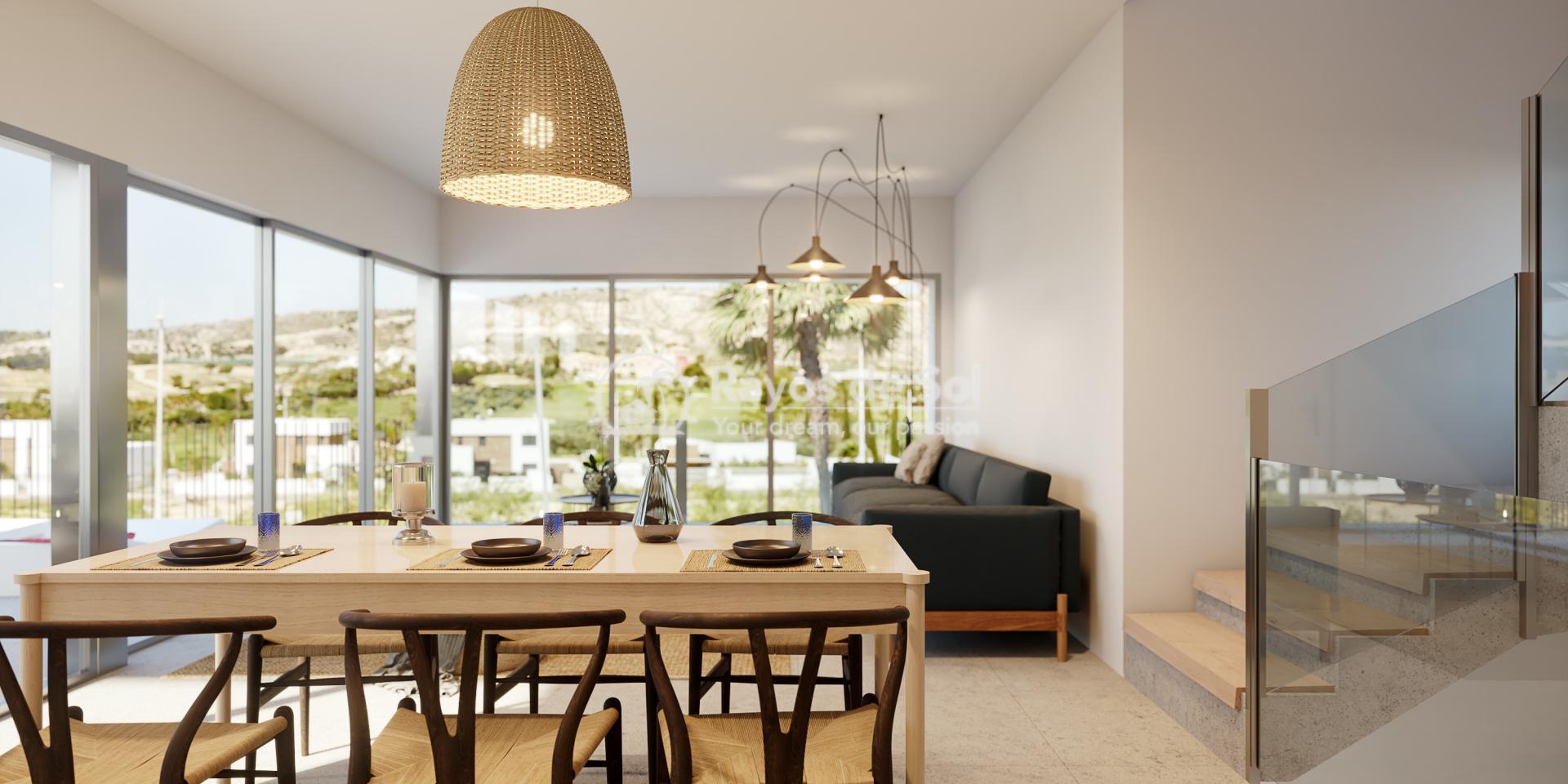 Luxury newbuild villa in La Finca Golf, Algorfa, Costa Blanca (LFPADI) - 8