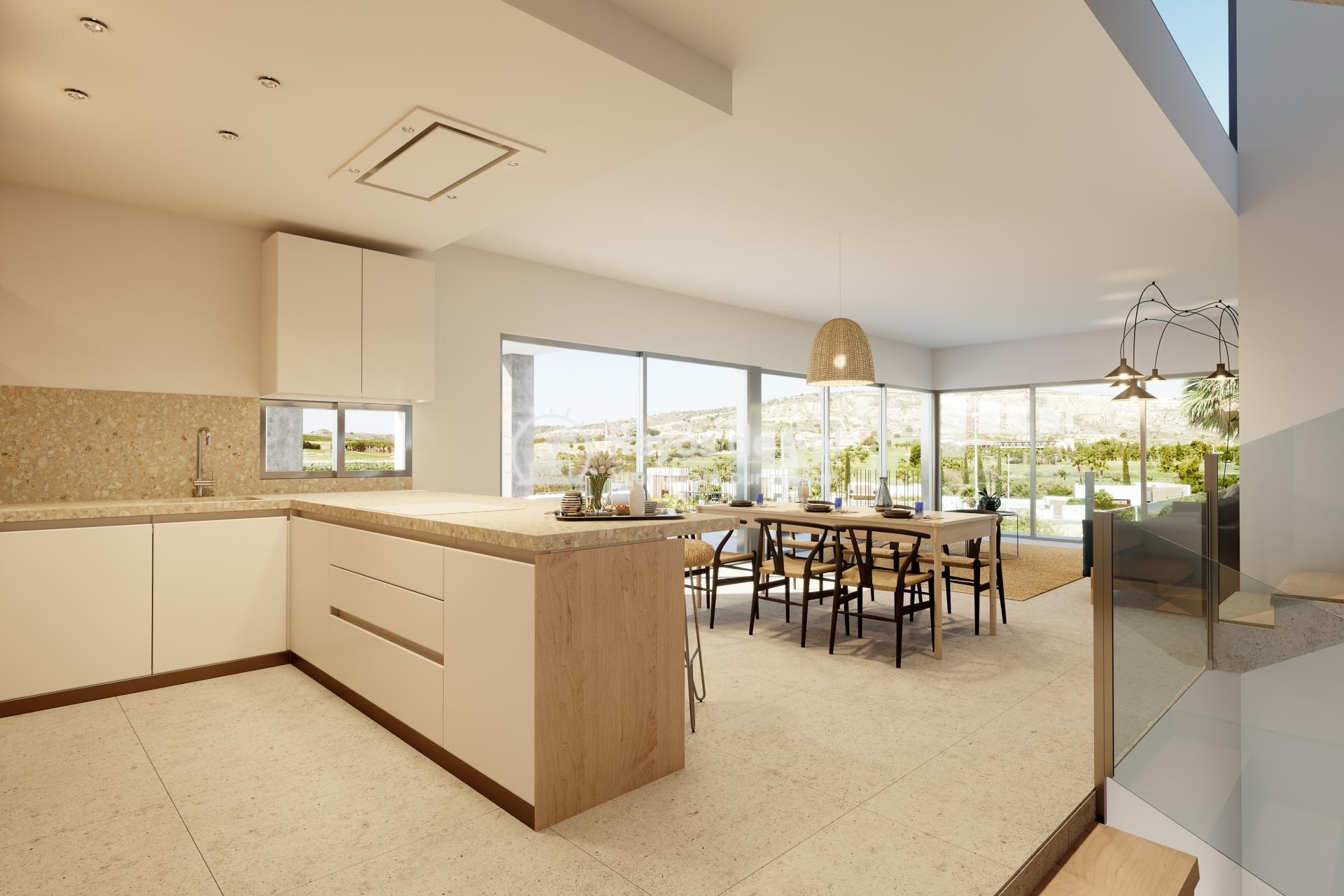 Luxury newbuild villa in La Finca Golf, Algorfa, Costa Blanca (LFPADI) - 6