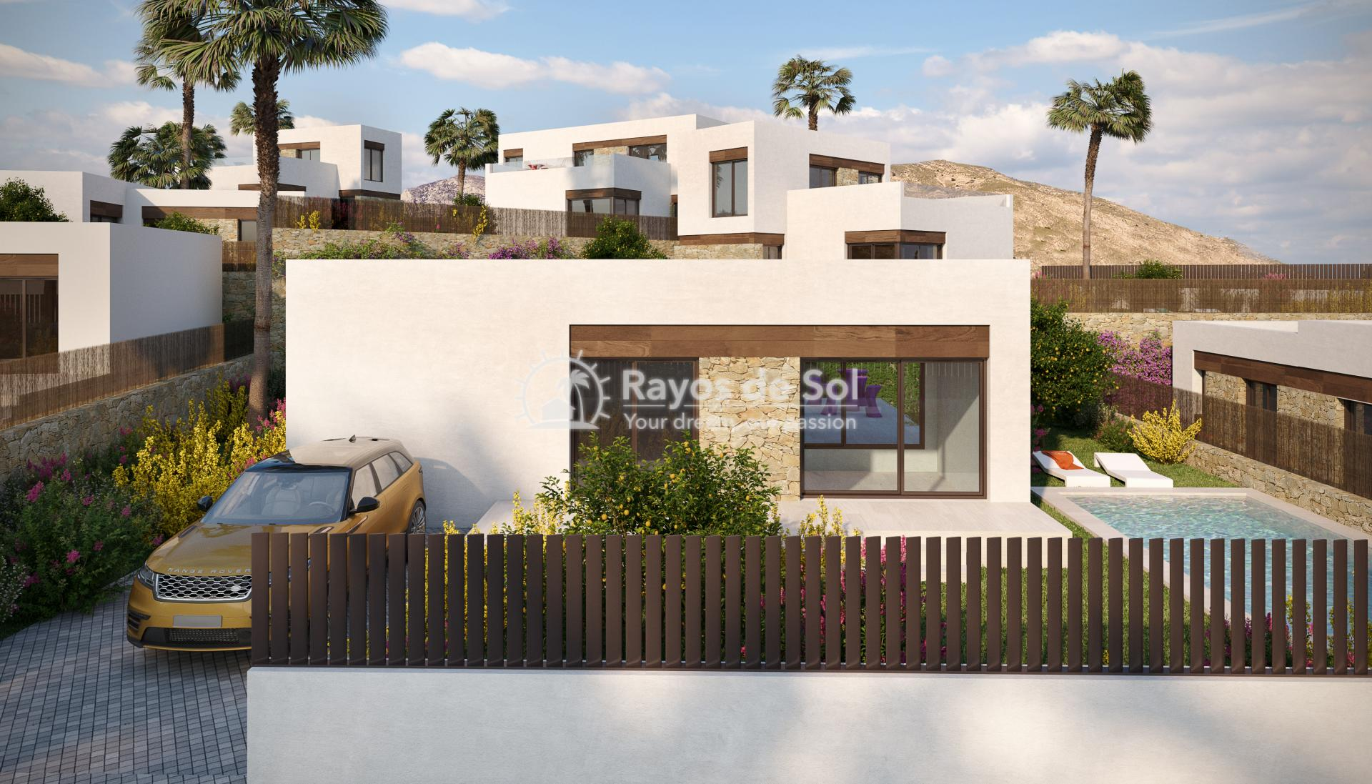 Luxury detached villas  in Finestrat, Costa Blanca (FIPACA3-2V) - 3