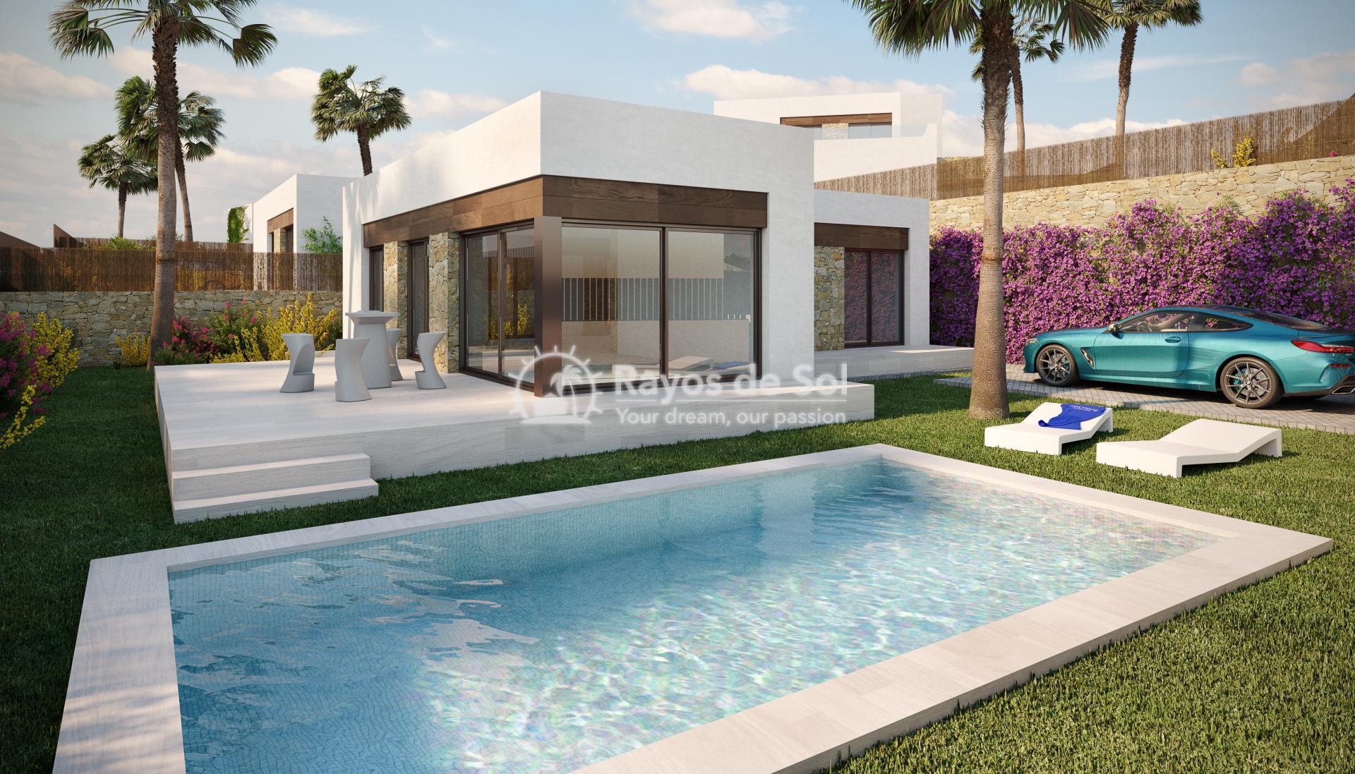 Luxury detached villas  in Finestrat, Costa Blanca (FIPACA3-2V) - 1
