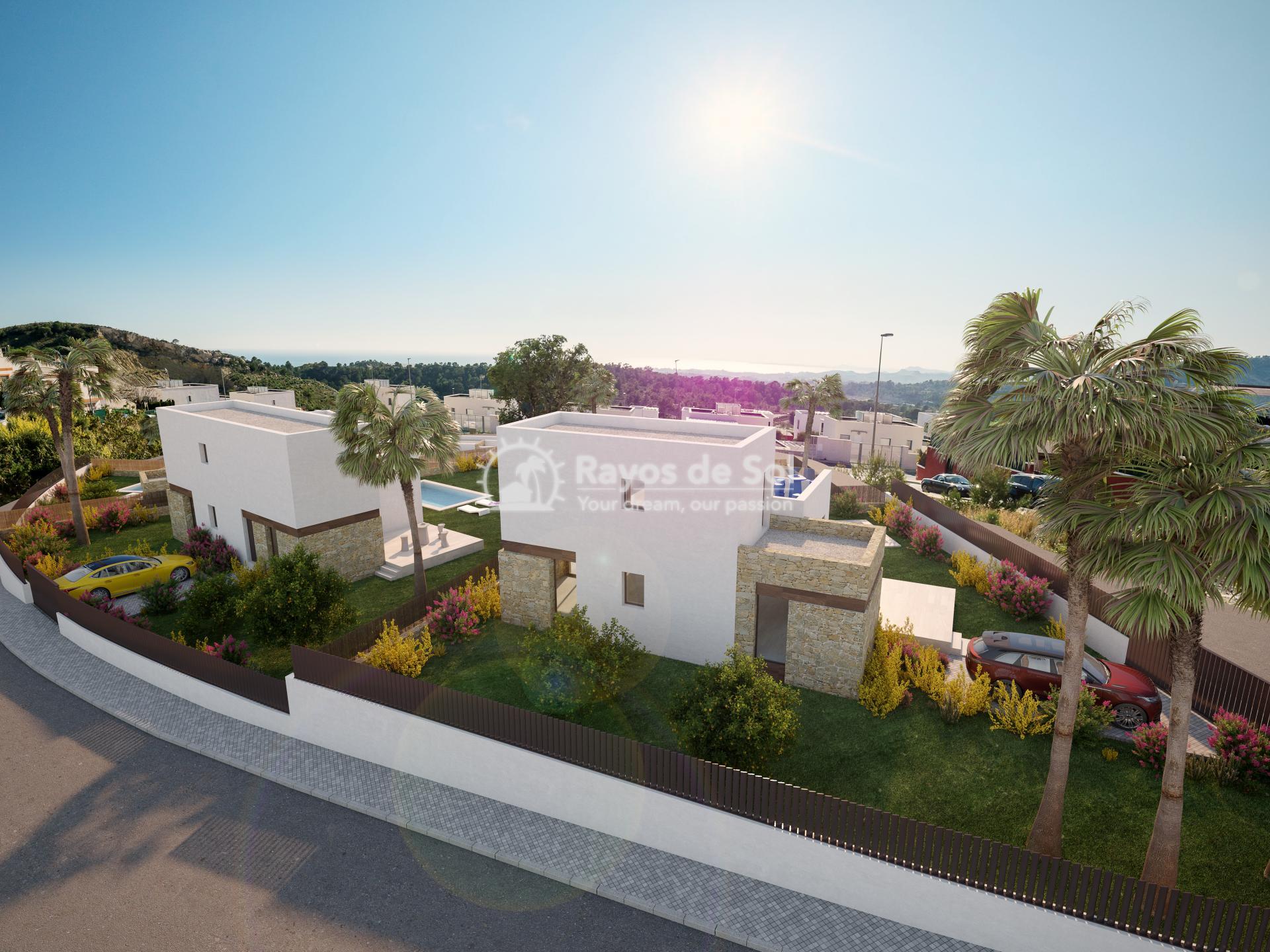 Luxury detached villas  in Finestrat, Costa Blanca (FIPACA3-2V) - 4