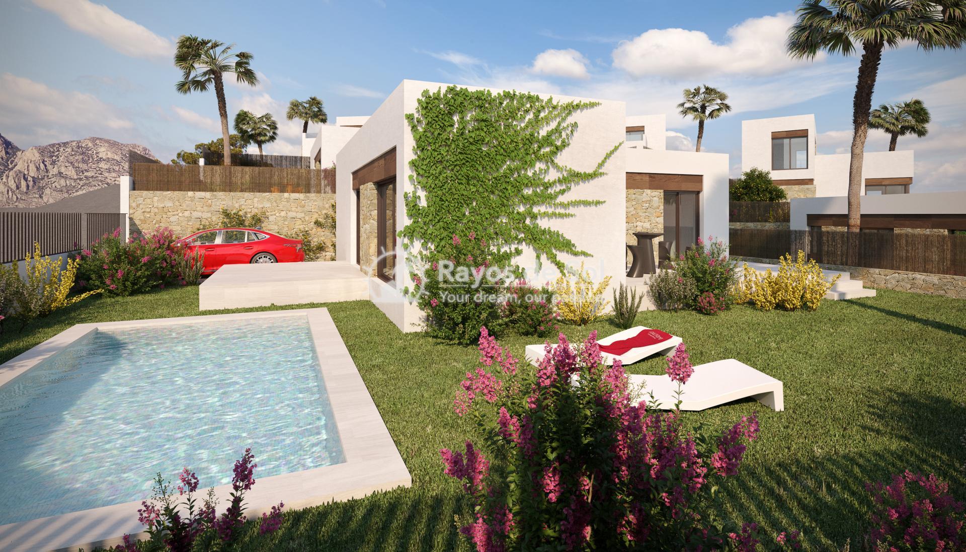 Luxury detached villas  in Finestrat, Costa Blanca (FIPACA3-2V) - 2
