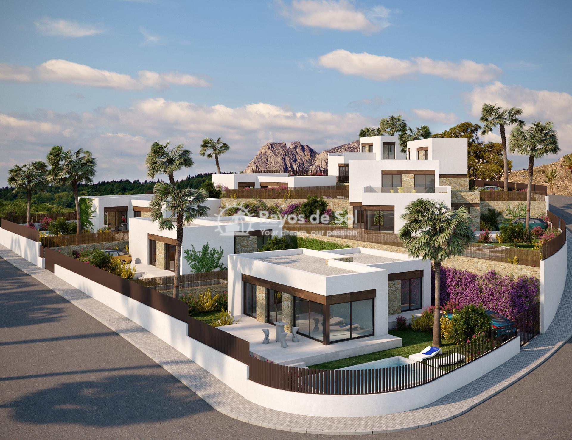 Luxury detached villas  in Finestrat, Costa Blanca (FIPACA3-2V) - 6
