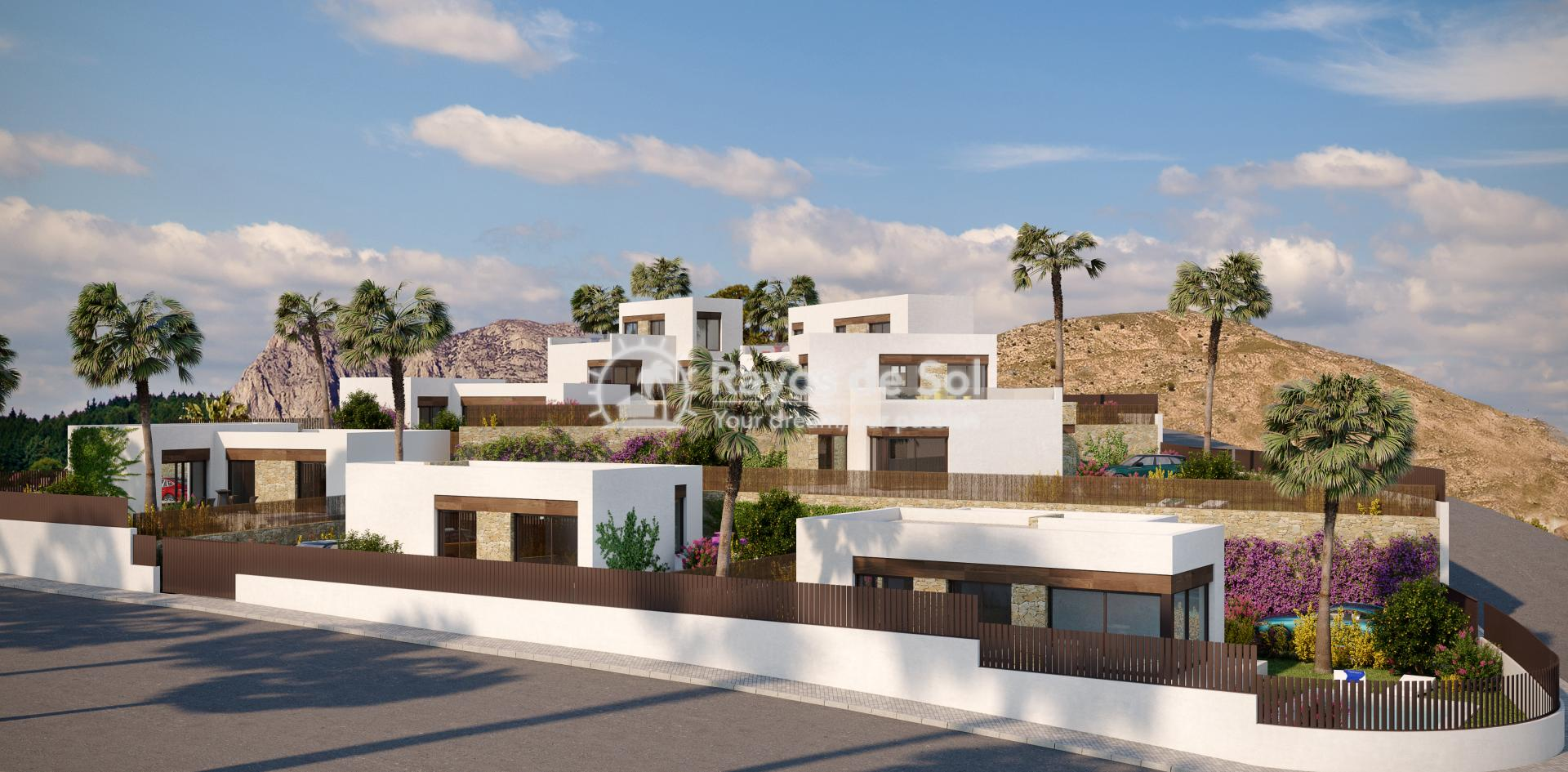 Luxury detached villas  in Finestrat, Costa Blanca (FIPACA3-2V) - 7