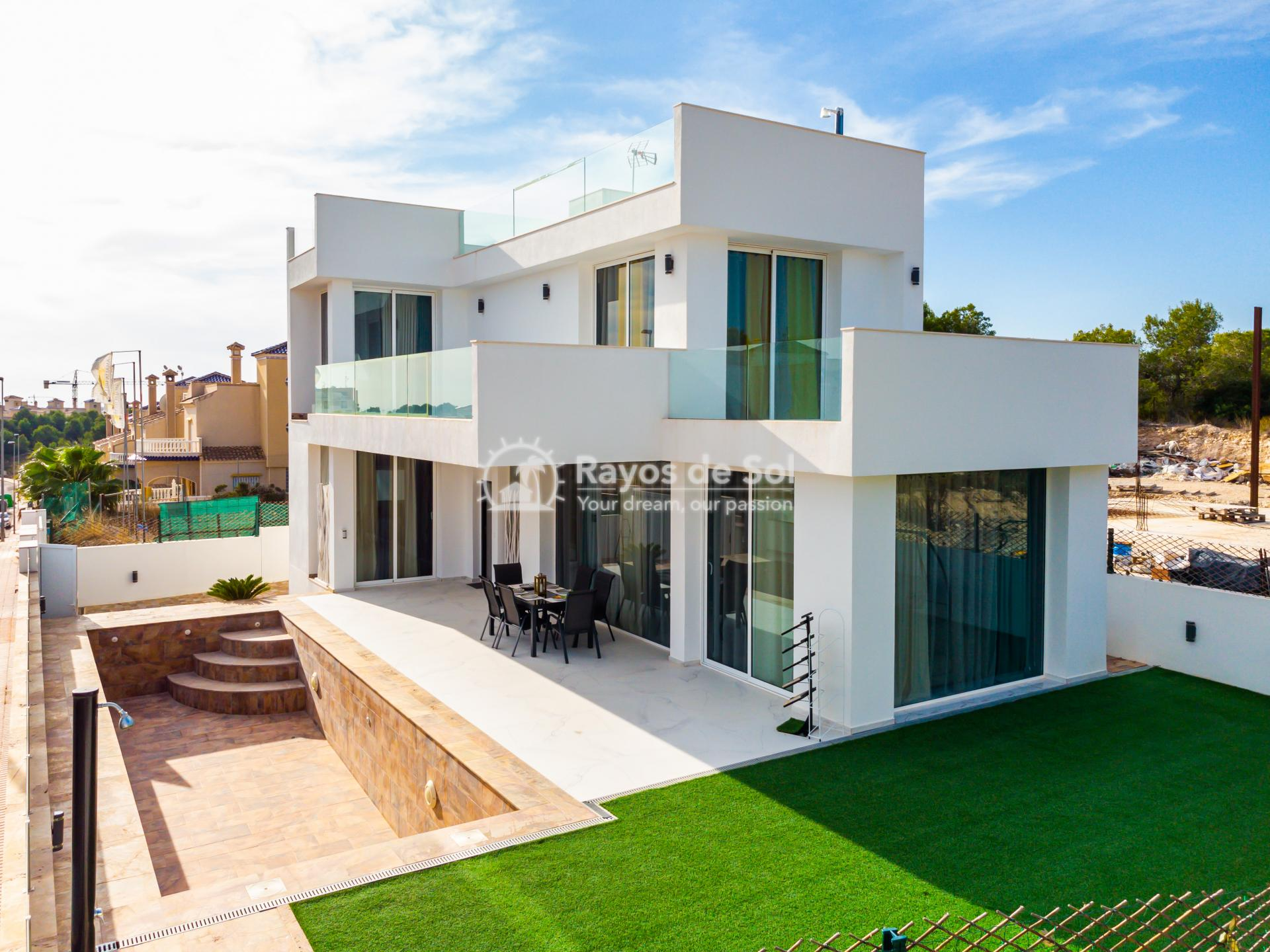 Detached villa  in Villamartin, Orihuela Costa, Costa Blanca (VIATAH3-3V) - 1