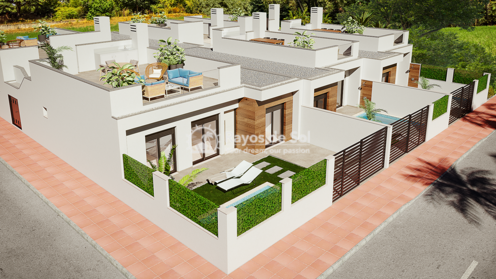 Semi-detached villa  in Dolores de Pacheco, Los Alcazares, Costa Cálida (DPPCVLP2-2) - 1