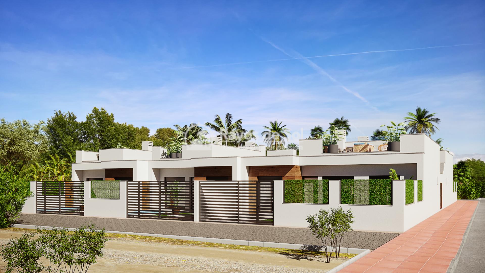 Semi-detached villa  in Dolores de Pacheco, Los Alcazares, Costa Cálida (DPPCVLP2-2) - 6