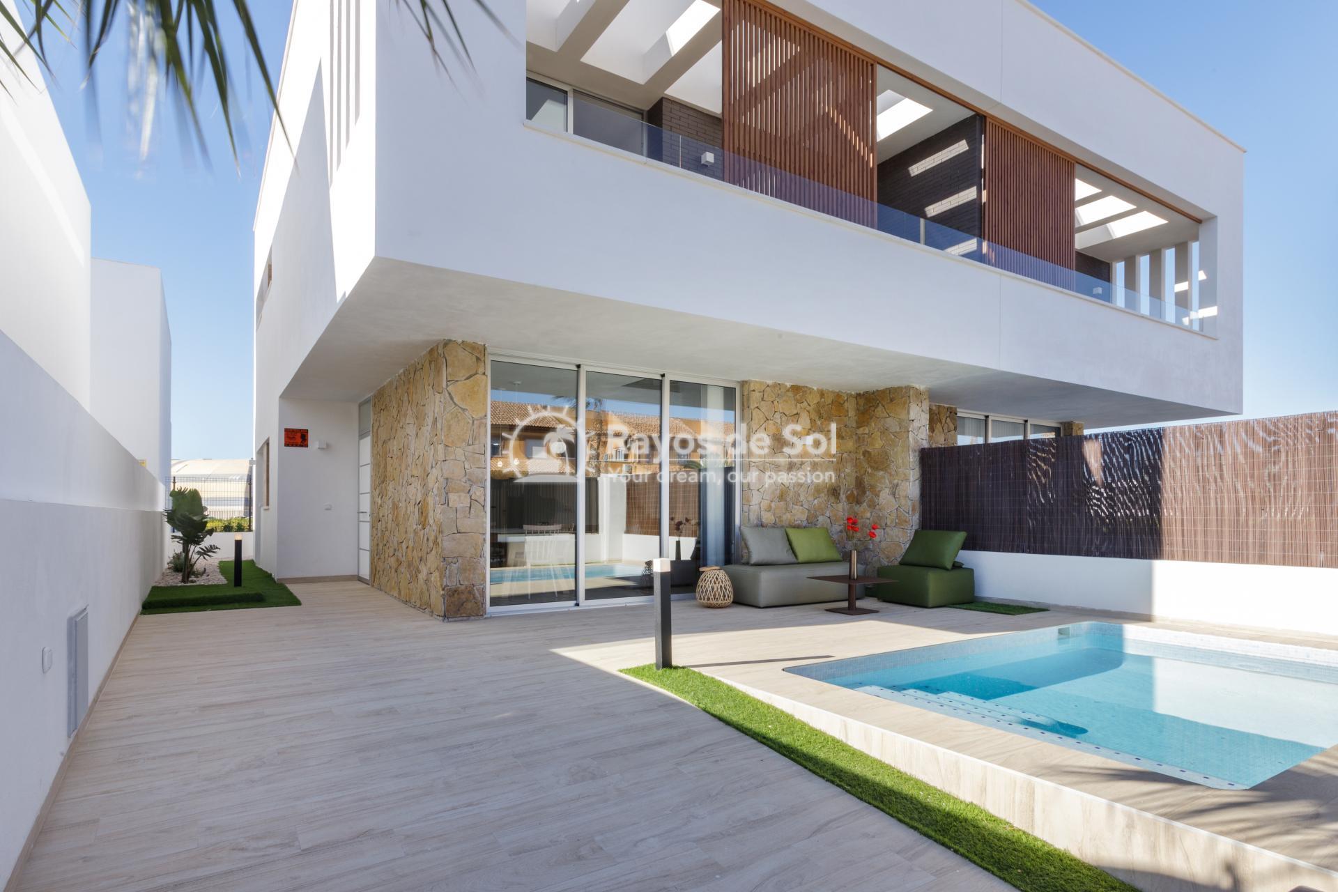 Semi-detached villa  in San Pedro del Pinatar, Costa Cálida (SPPCRFV4-3) - 1