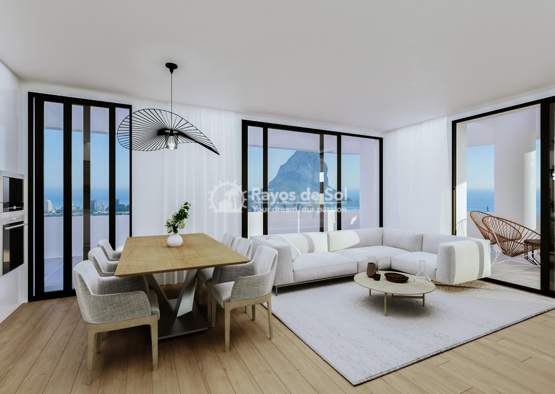 Apartment , Costa Blanca in Calpe, Costa Blanca North (CACASA3-2A) - 8