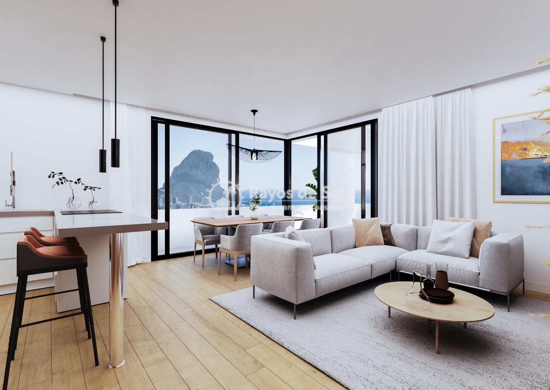 Apartment , Costa Blanca in Calpe, Costa Blanca North (CACASA3-2A) - 7
