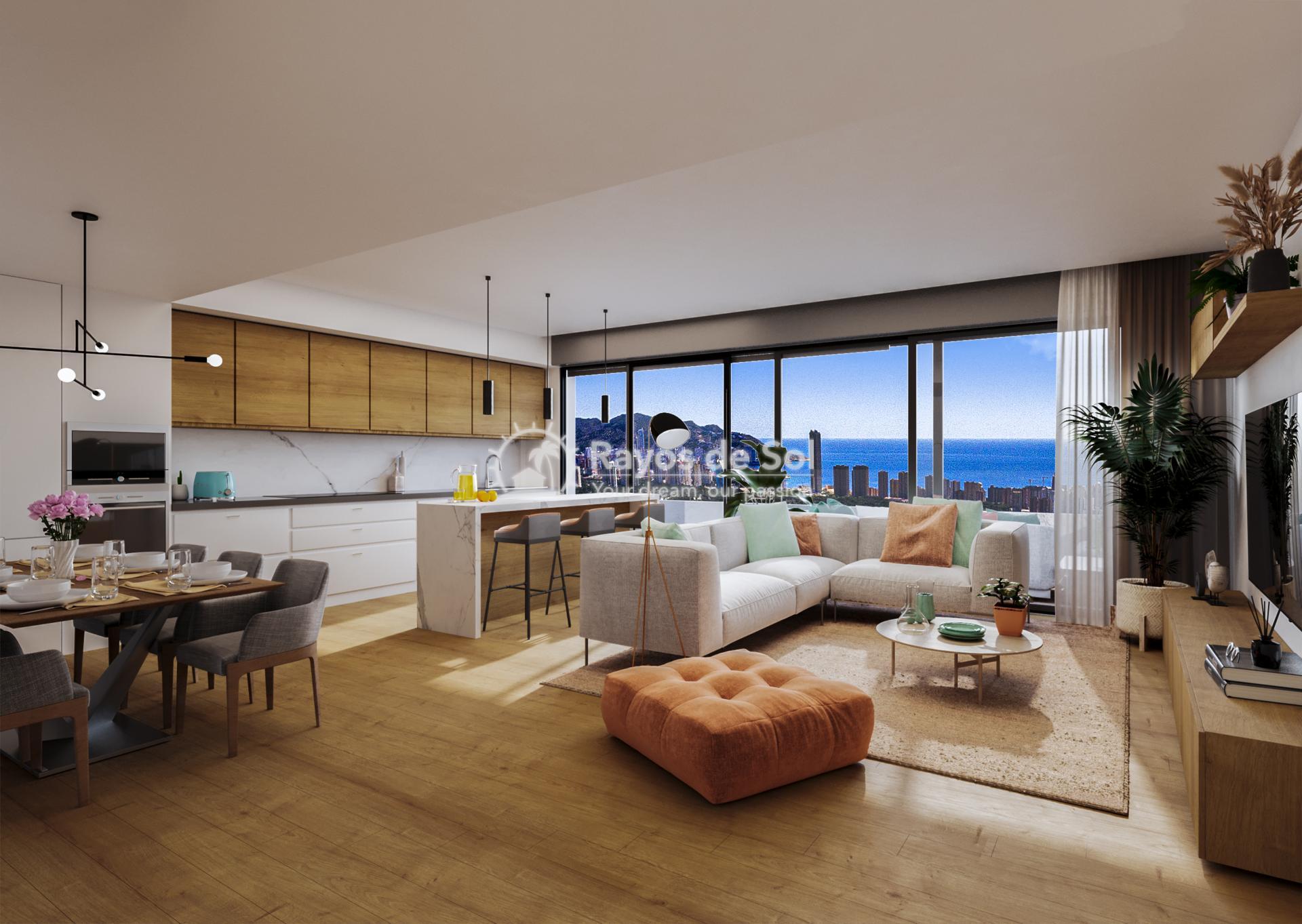 Apartment  in Finestrat, Costa Blanca (FICASVD2-2A) - 7