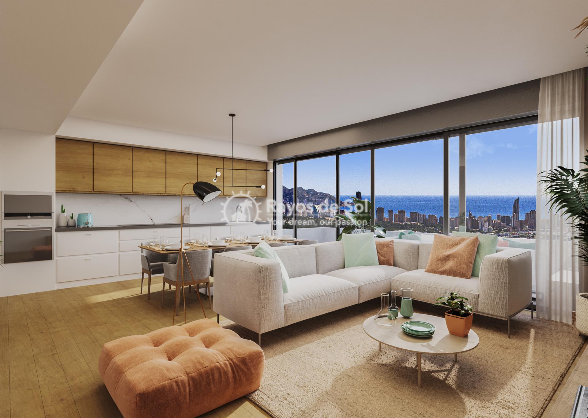 Apartment  in Finestrat, Costa Blanca (FICASVD2-2A) - 8