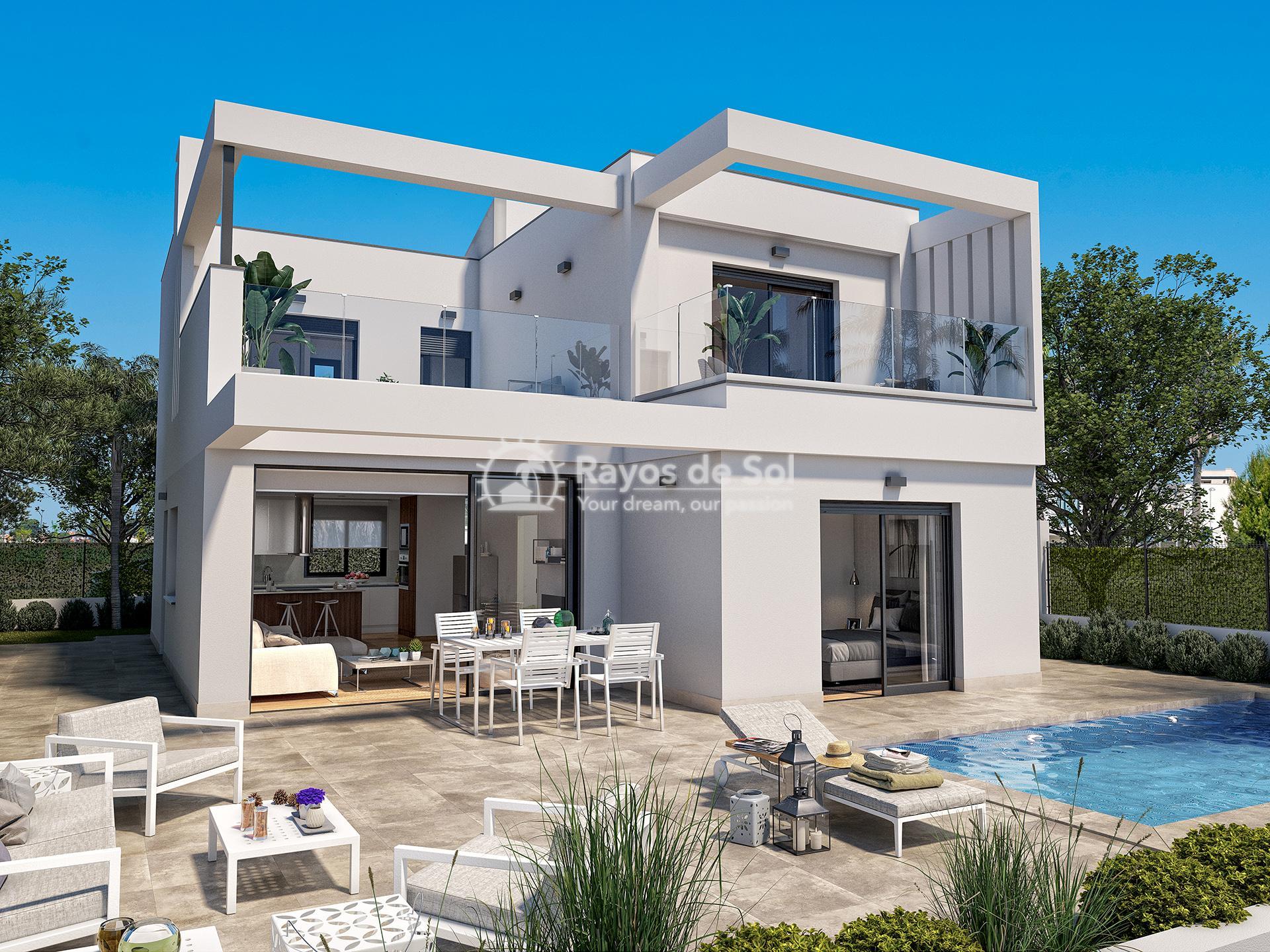 Villa  in Roda, Los Alcazares, Costa Cálida (ROPCVLFV4-3) - 3