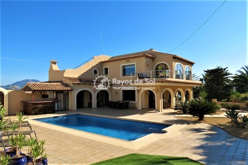 Villa  in Moraira, Costa Blanca (cbde1368x) - 1
