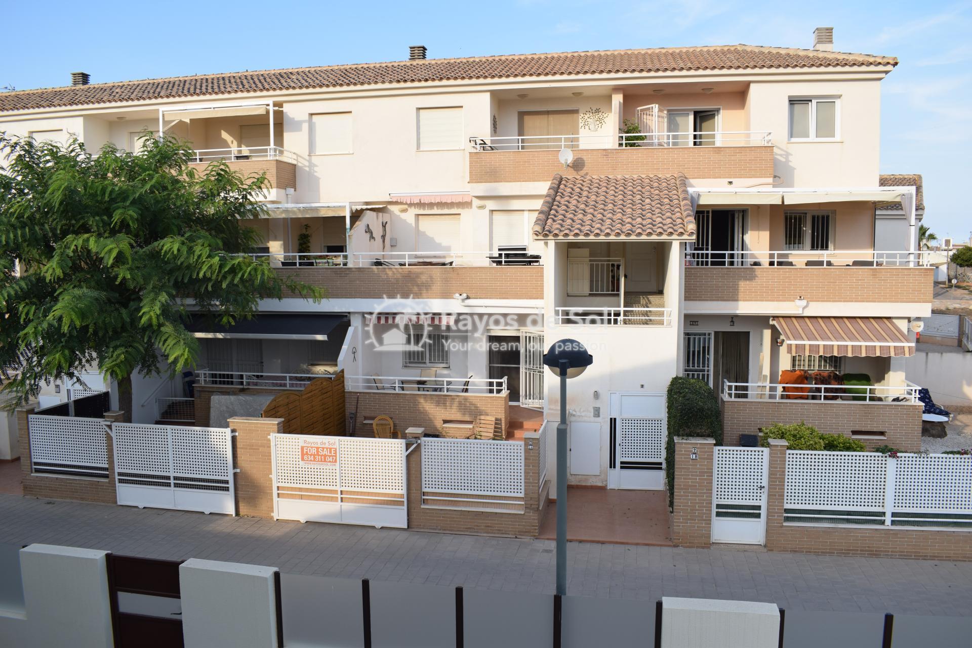 Appartement met zuidwest oriëntatie  in San Cayetano, Costa Cálida (SCRE0055) - 1