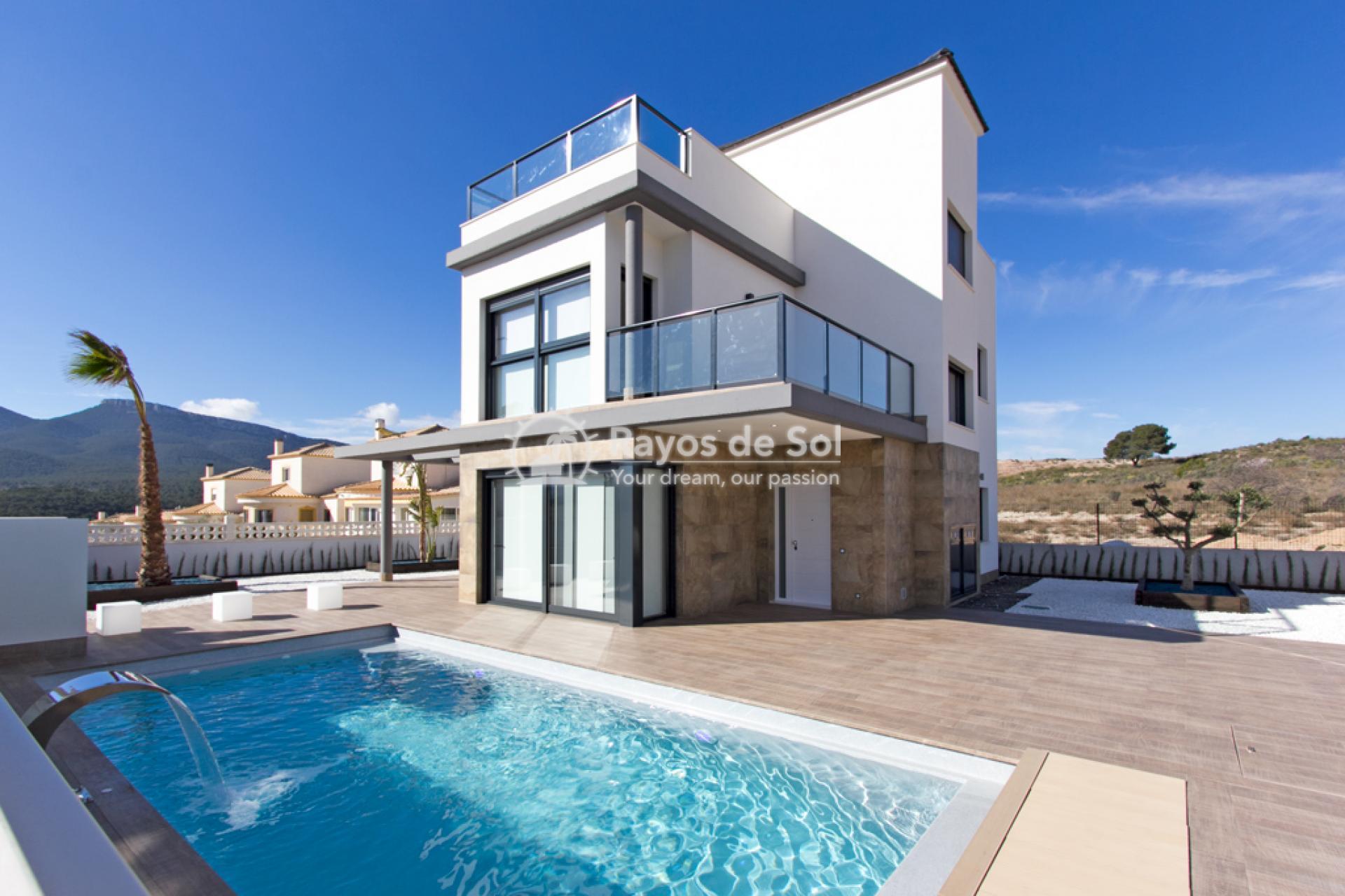 Villa  in Castalla, Costa Blanca (CASAMCA4L) - 2