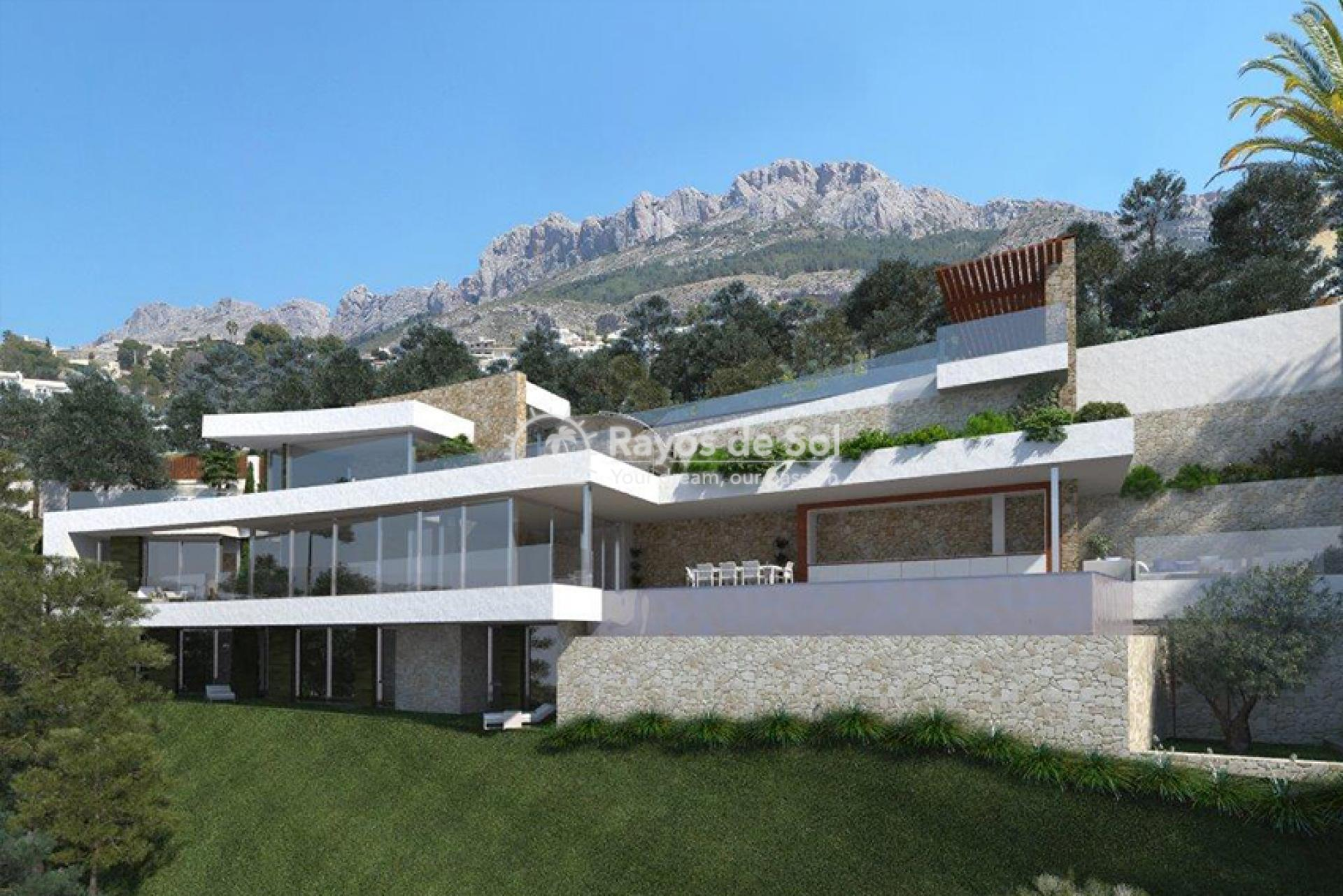 Villa  in Altea, Costa Blanca (ALMAGU) - 2